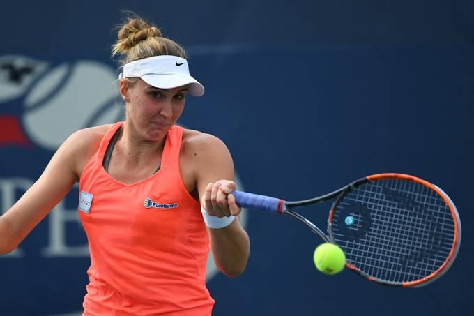 Bia Haddad no US Open