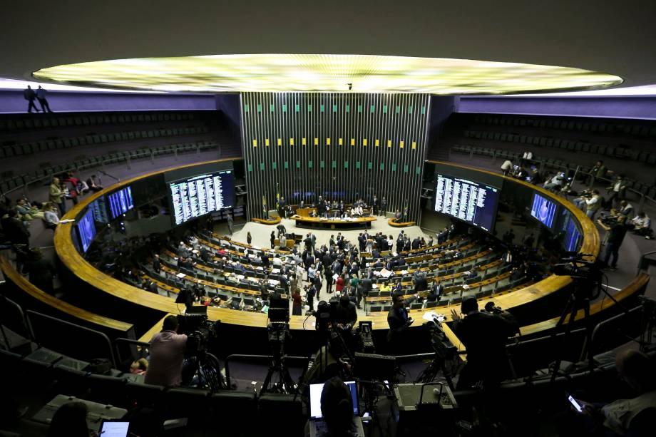 Sessão plenária define o prosseguimento da denúncia contra o presidente Michel Temer pelo crime de corrupção passiva na Câmara dos Deputados - 02/08/2017
