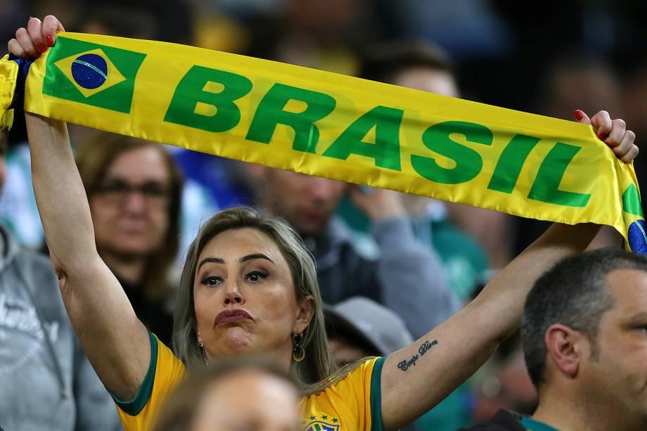 Público durante partida entre Brasil e Equador, Válida pela 15ª rodada das Eliminatórias Sul-americanas da Copa do Mundo de 2018 - 31/08/2017