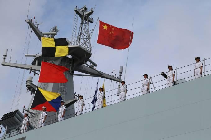 Soldados do Exército de Libertação do Povo da China