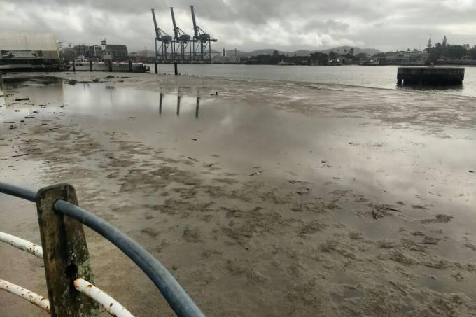 Recuo do mar no Brasil não é sinal de tsunami