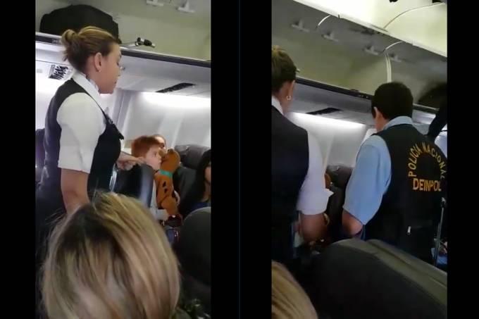 Passageira é abordada por policiais em voo da Copa Airlines