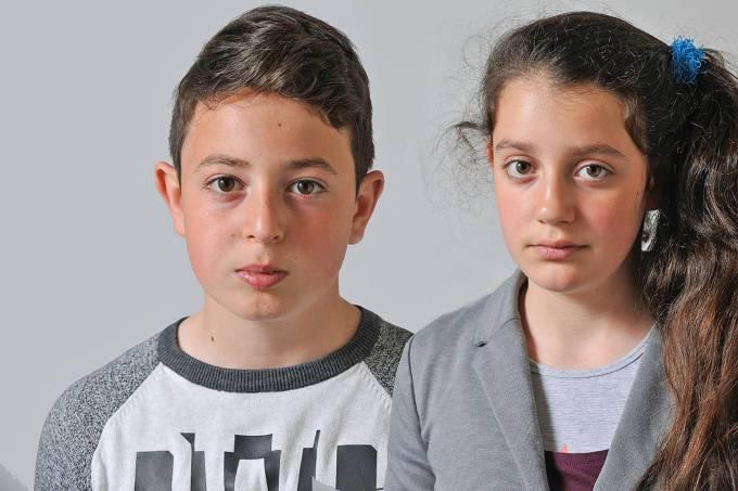 Crianças armenas na Holanda