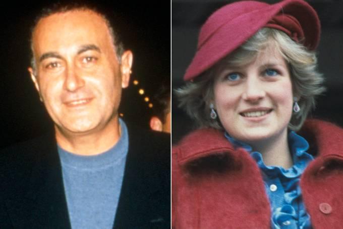 Dodi Al-Fayed e princesa Diana