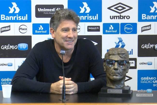 Renato Gaúcho - Coletiva