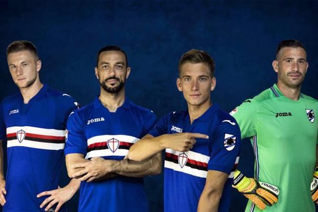 Uniforme da Sampdoria