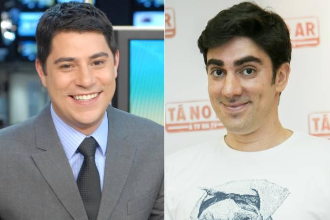 Evaristo Costa e Marcelo Adnet