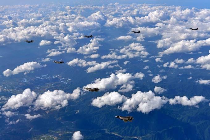 Exercício militar conjunto entre EUA e Coreia do Sul