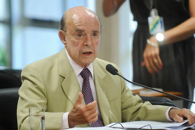 O vice-governador do Rio, Francisco Dornelles (PP-RJ)