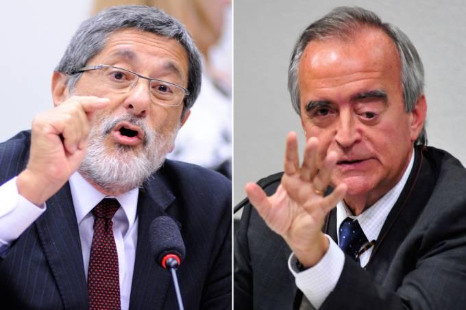 José Sérgio Gabrielli e Nestor Cerveró