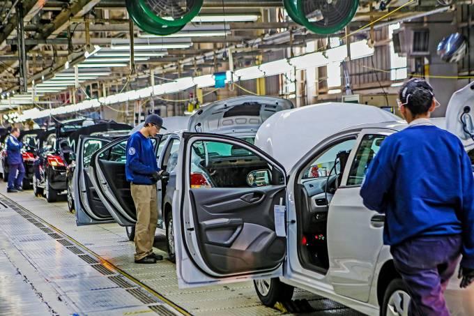 Fábrica da General Motors em Gravataí