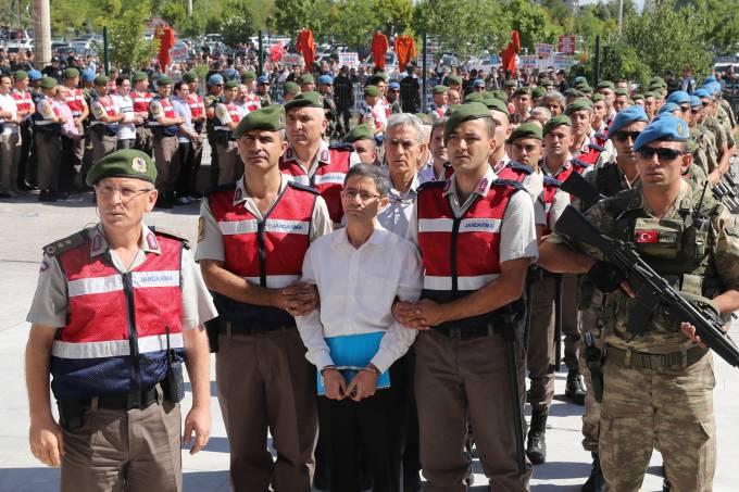 Turquia julga os acusados pela tentativa do golpe militar de 2016