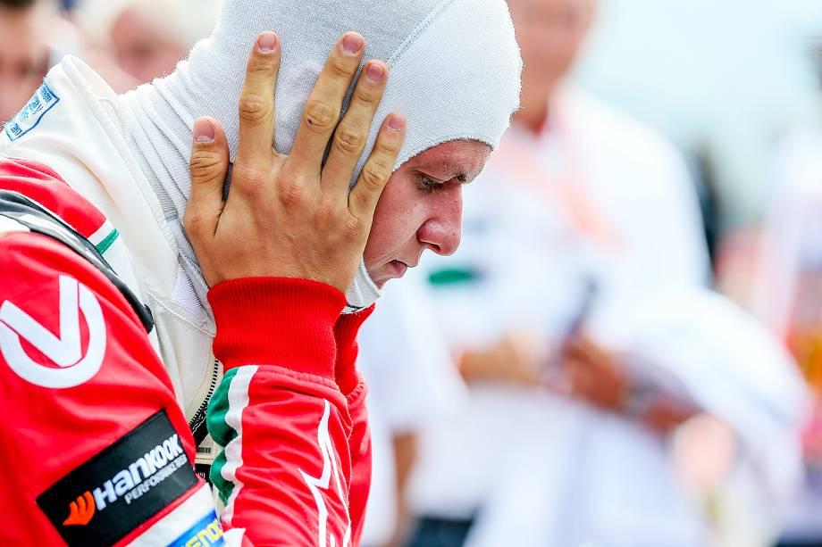 Mick Schumacher pilota carro da primeira vitória do pai na Bélgica - 27/08/2017