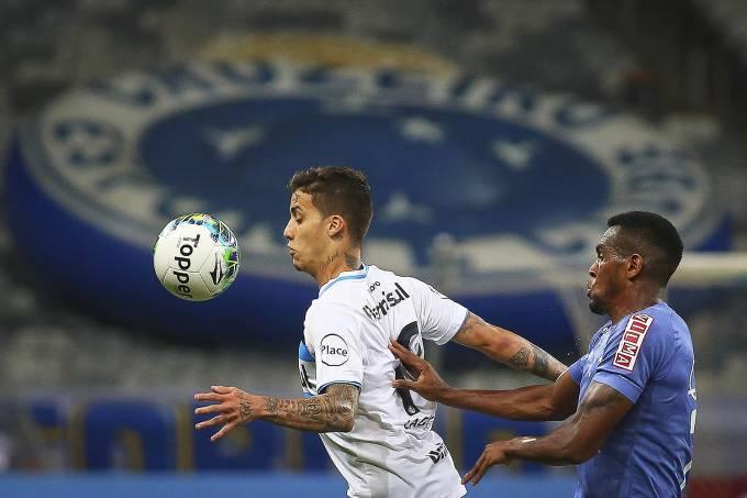 Partida entre Cruzeiro e Grêmio