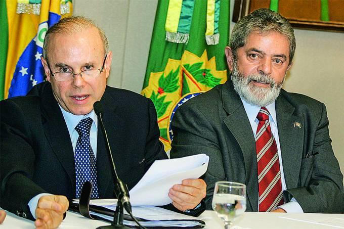 Lula e Guido Mantega