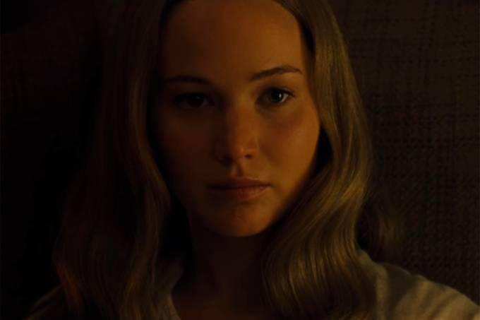 Jennifer Lawrence no filme 'Mãe!'