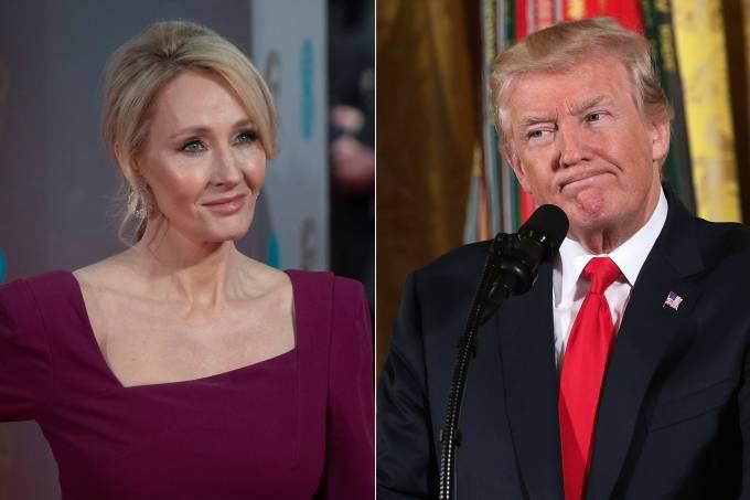JK Rowling e Donald Trump