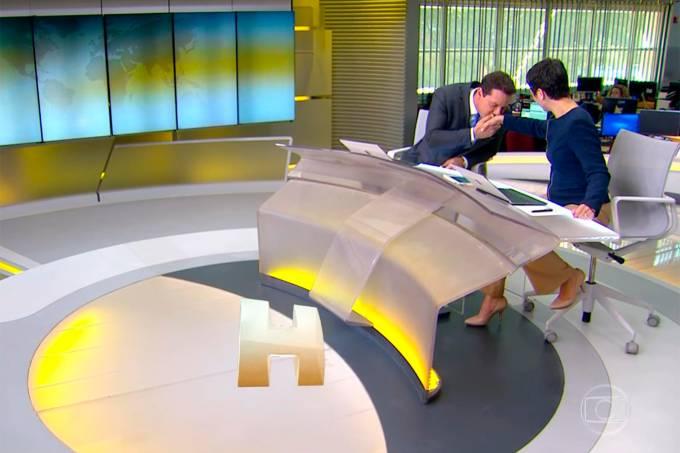Dony De Nuccio estreia no 'Jornal Hoje'