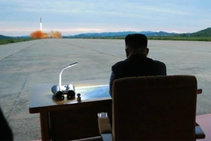 O ditador da Coreia do Norte, Kim Jong Un – Mísseis
