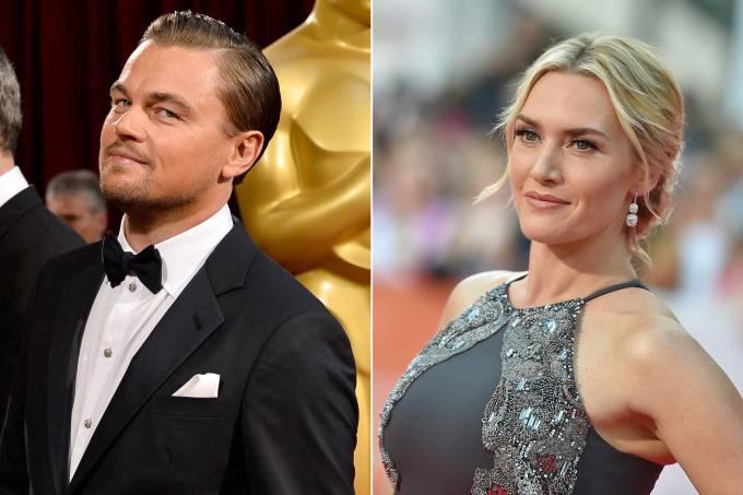 Leonardo DiCaprio e Kate Winslet namorando?