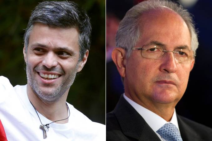 Leopoldo Lopez e Antonio Ledezma