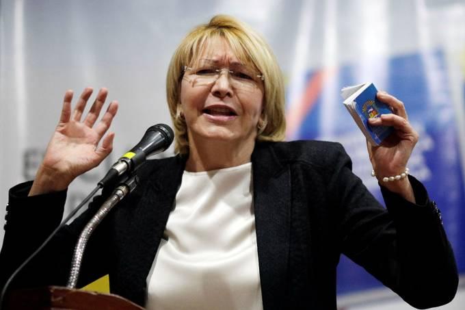 A procuradora-geral da Venezuela, Luisa Ortega Díaz