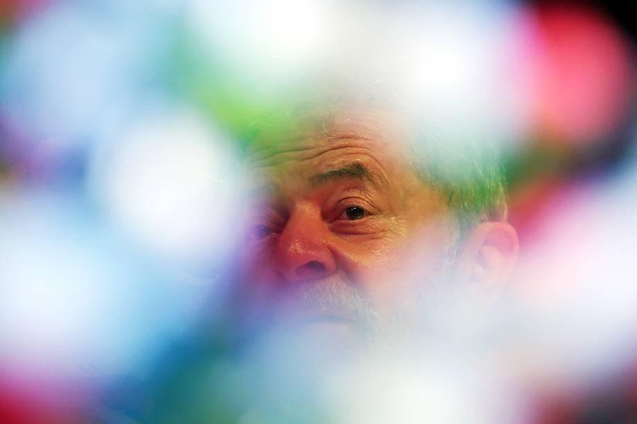 O ex-presidente Luiz Inácio Lula da Silva em Sergipe, em agosto de 2017.