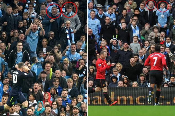 Torcedores do Manchester City