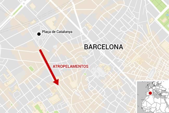 Atentado em Barcelona - Las Ramblas - Ataque terrorista