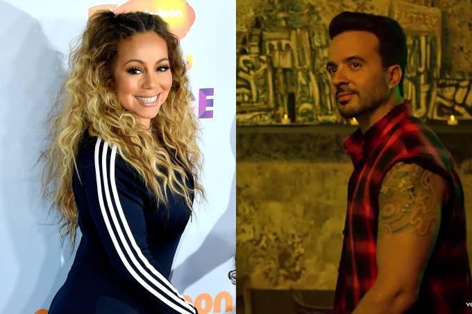 Mariah Carrey e Luis Fonsi