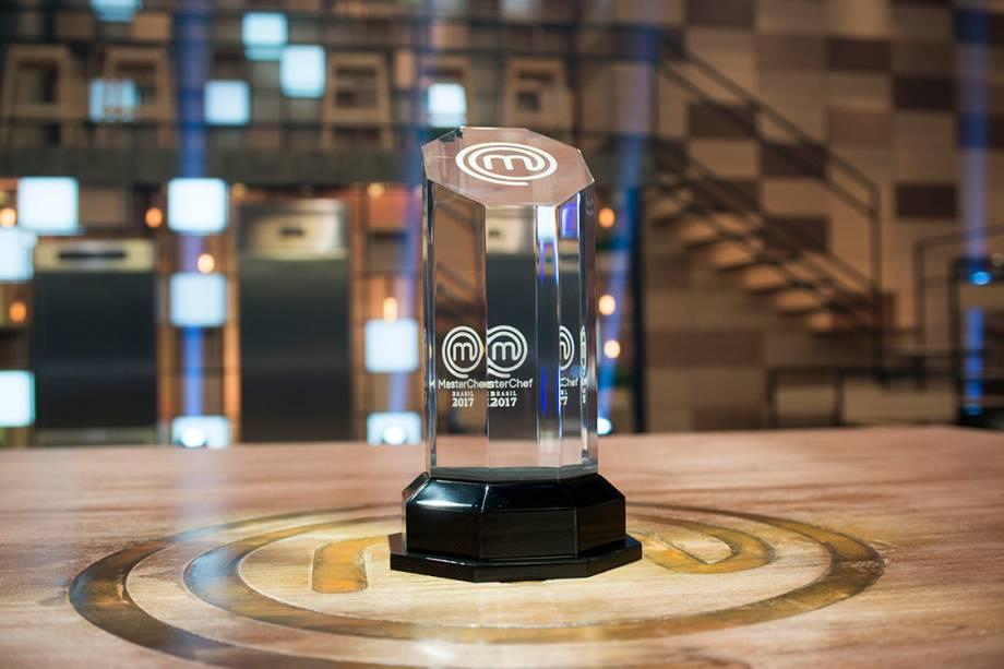 Troféu do MasterChef 2017