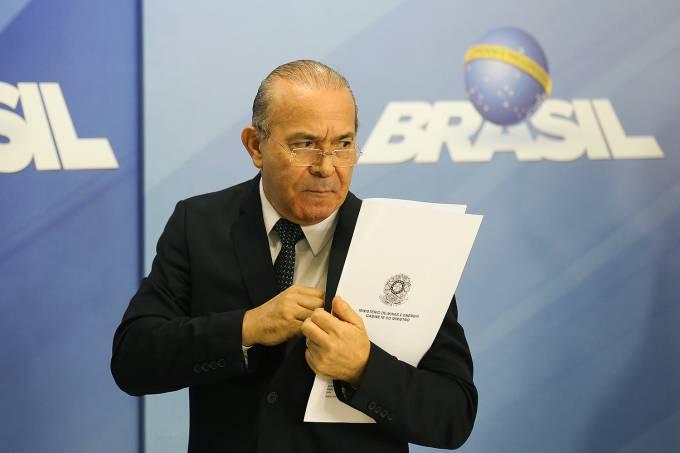 O ministro chefe da Casa Civil, Eliseu Padilha