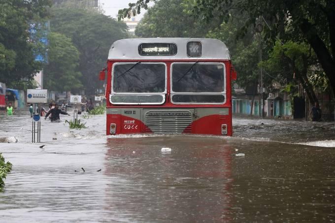 Chuvas de monção na Índia