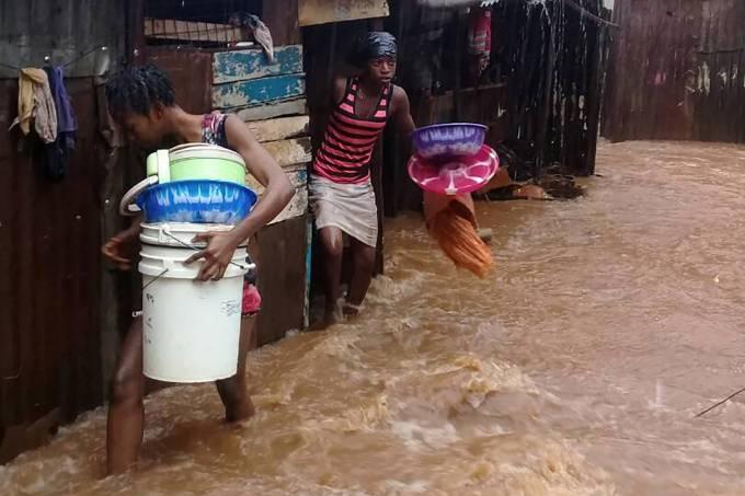 Enchentes em Serra Leoa