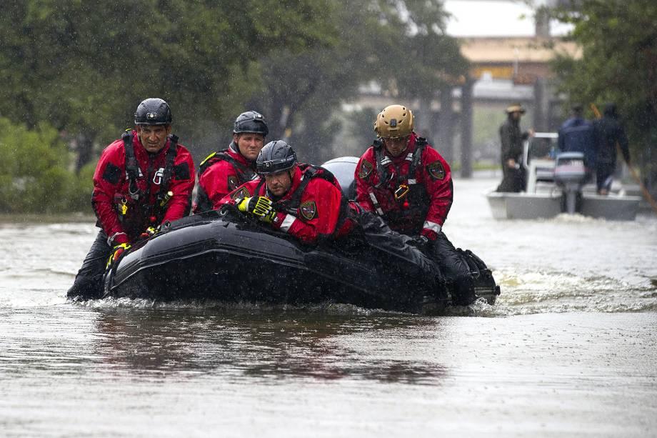 Furacão Harvey provoca inundações no Texas (EUA) - 28/07/2017