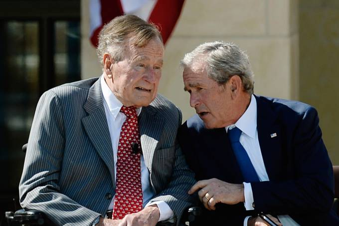 George Bush e George W Bush