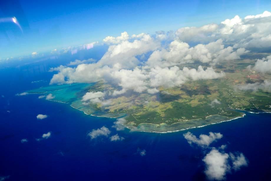 Vista da Baía De Tumon, na Ilha de Guam