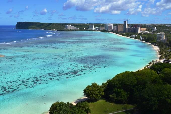 Ilha de Guam, dos Estados Unidos, alvo da Coreia do Norte