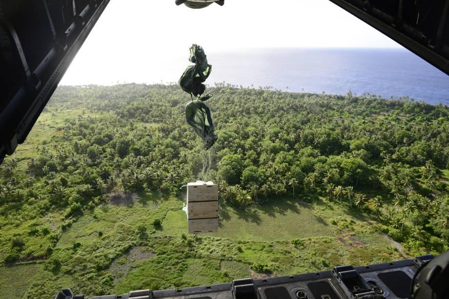 Missão humanitária na Ilha de Guam