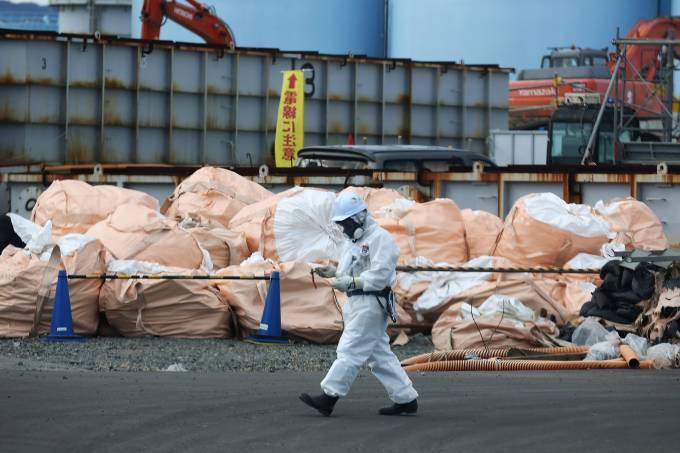 Usina Fukushima Daiichi no Japão