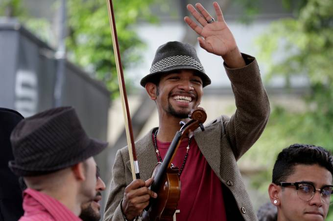 Violinista venezuelano Wuilly Arteaga