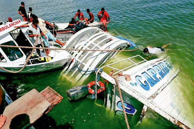 Um dia antes – O barco que virou no Pará: acidente fatal expôs o problema das embarcações irregulares na Amazônia