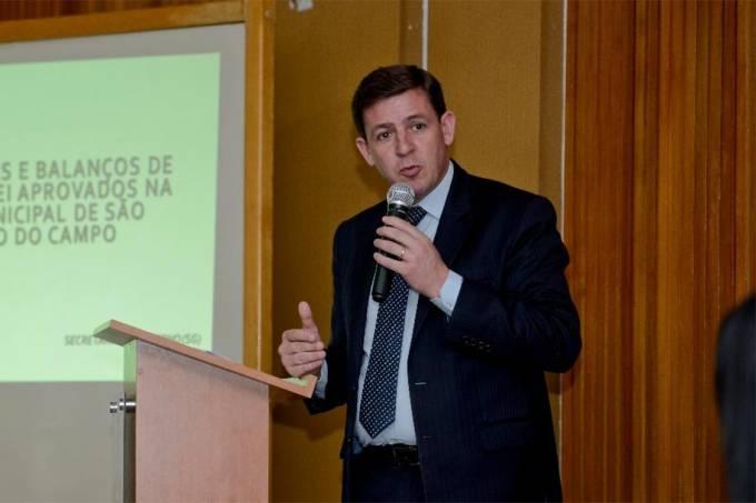 O prefeito de São Bernardo, Orlando Morando