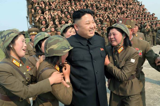 Kim Jong Un, ditador da Coreia do Norte