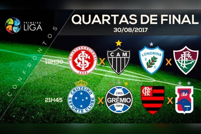 Primeira Liga 2017 – Quartas de final