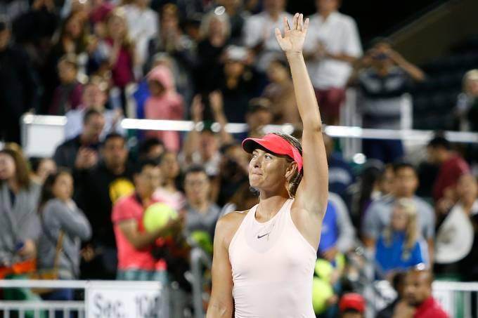 Maria Sharapova em Stanford