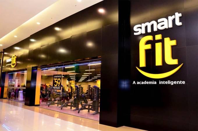 Fachada da academia Smart Fit