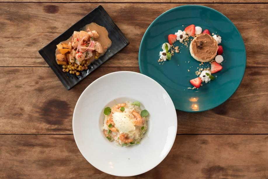 CRU Balcão Criativo: restaurante participa do festival no almoço e jantar