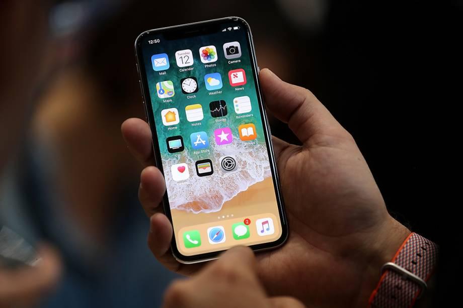 iPhone X, novo lançamento da Apple