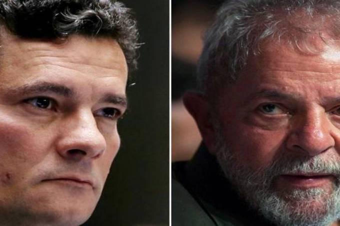 Sergio Moro e Luiz Inácio Lula da Silva